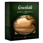 Чай черный Greenfield Classic Breakfast в пакетиках, 100 шт