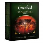Чай черный Greenfield Kenyan Sunrise в пакетиках, 100 шт
