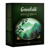 Чай зеленый Greenfield Jasmine Dream в пакетиках, 100 шт